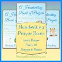 Handwriting Book of Prayers