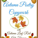 Autumn Copywork and Notebooking Pages