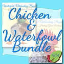 Chicken & Waterfowl - Ducks, Geese, Swans - Notebooking Writing Journal Pages Bundle