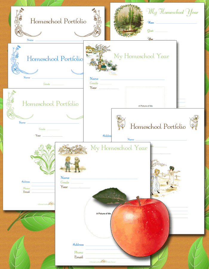 Pennsylvania Portfolio Covers for Homeschool