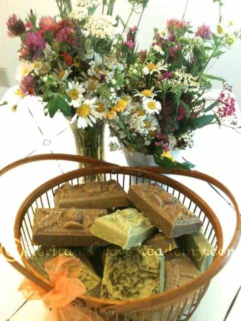 Homemade Soap and Wildflowers