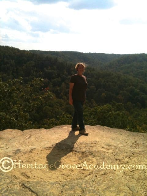 On the Edge of the World, Natural Bridge, KY