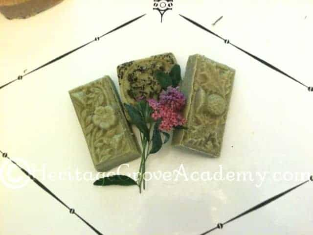 Peppermint French Green Clay Soap