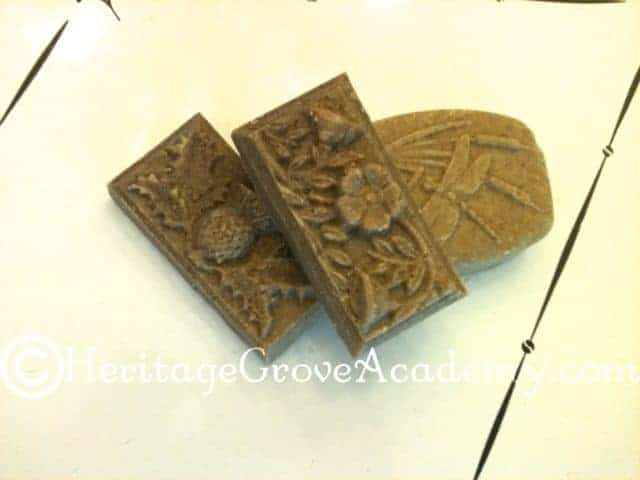 Rhassoul Clay Rose and Lavender Soap