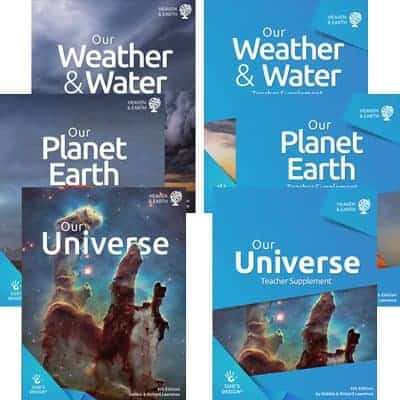Homeschool Creation Weather Planet Earth Universe for Homeschool
