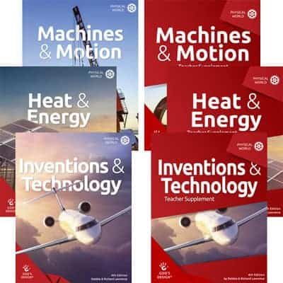 Creation Science for Homeschool Explore Inventions Technology Heat Energy and Motion