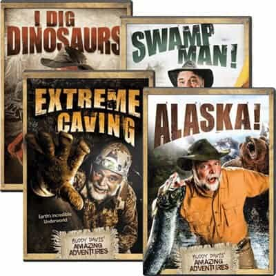Buddy Davis Kids Adventure DVD Shows