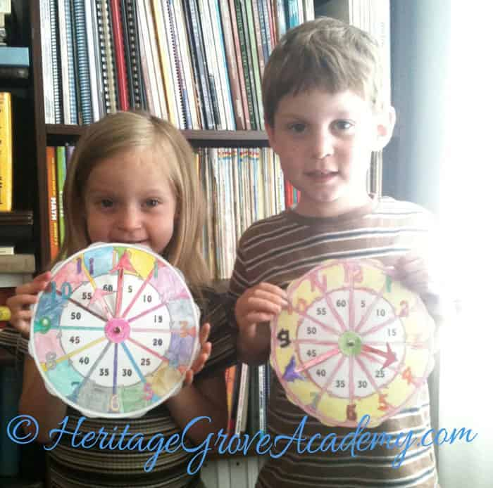 Homeschool Clock Download Pages