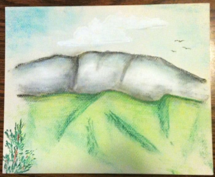 Homeschool Mountain Study in Pastel