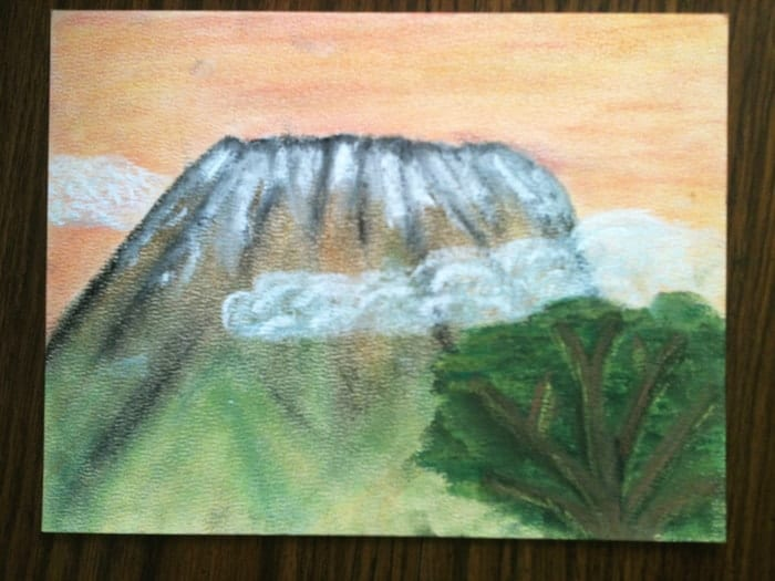 Mountain Homeschool Study for Art - Pastels