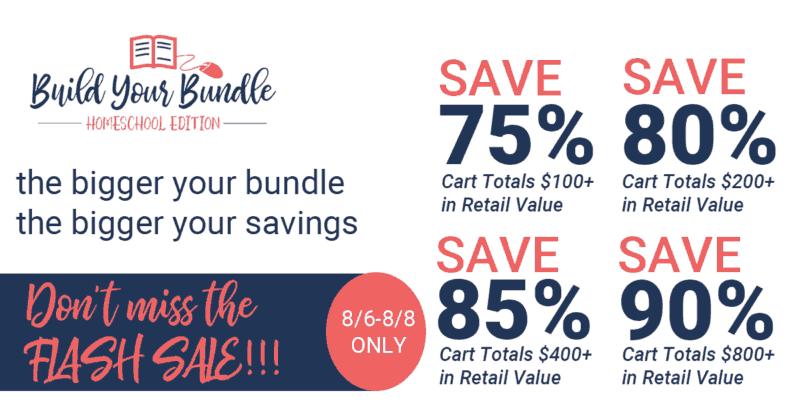 See the amazing homeschool book bundle savings!