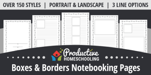 Print Homeschool Pages